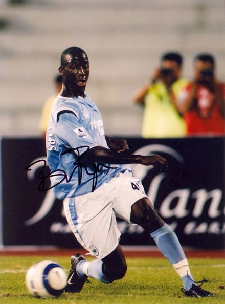 Bradley Wright-Phillips, Manchester City, signed 8x6 inch photo.